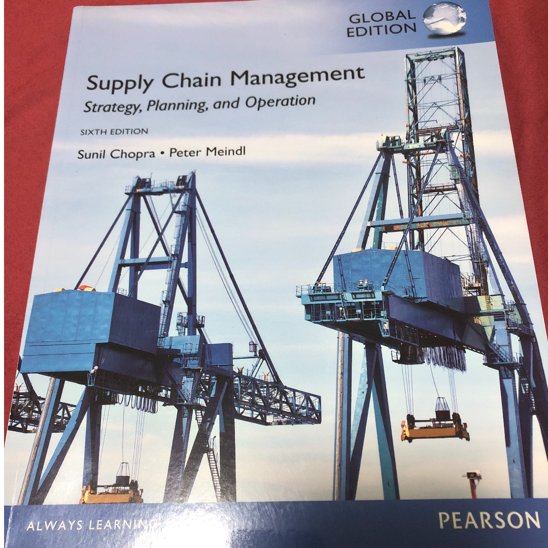 supply chain management strategy planning and operation 6th edition