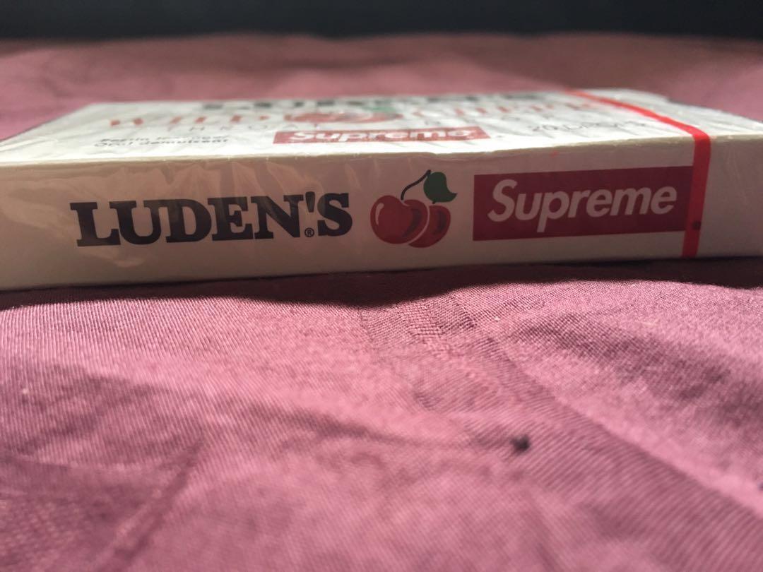 Supreme Luden's Wild Cherry throat drops