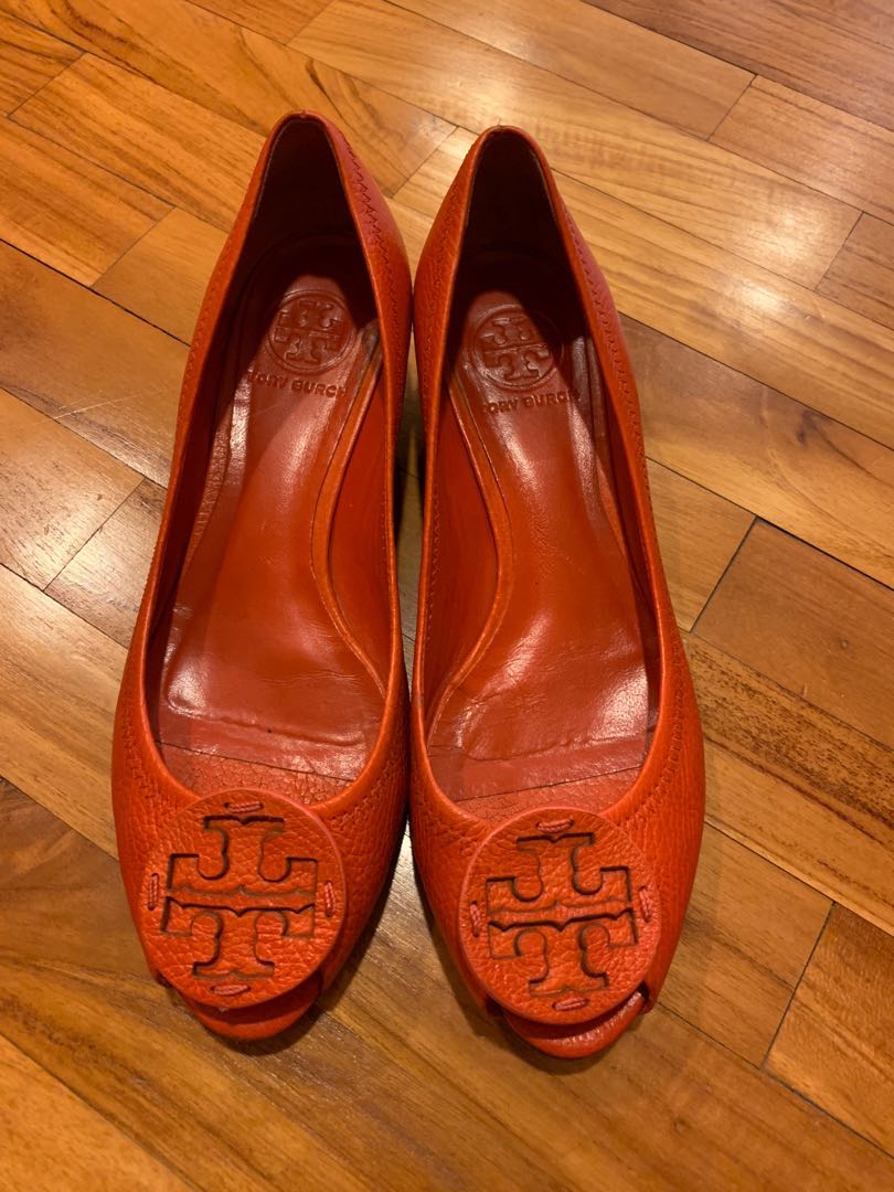 30919417e1c6 Tory Burch Low Heeled in Coral