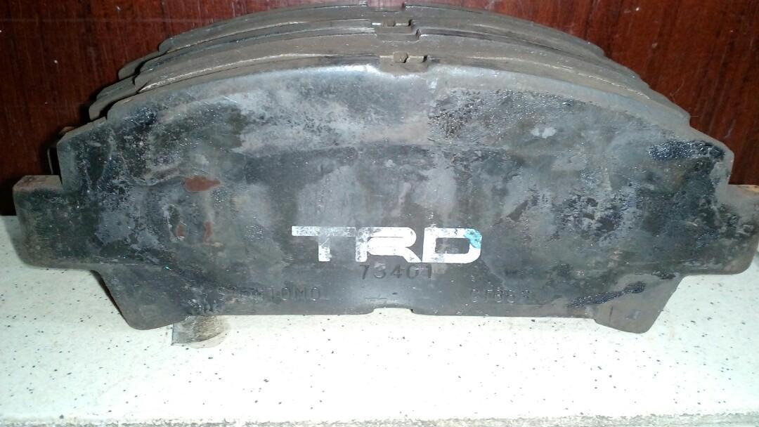 TRD Racing bake pad(Front)頭皮