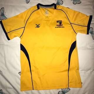 ACS International PE attire shirt tee FBT