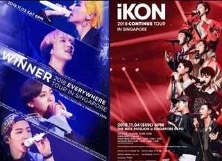 Winner iKon Singapore Concert Exclusive Premium Gift