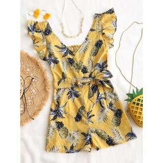 Pineapple Prints Romper