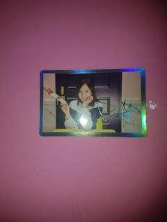 TWICE Mina Singal Special Photocard