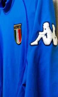 Original Genuine Authentic Vintage Italy Football Team Home Jersey 2000/01' ( Vintage Collection ) Made in Italy by Kappa.