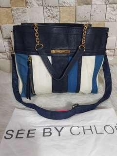 Auth See By Chloe (Strap tambahan) size 31*26*15cm