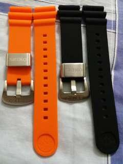 22mm silicone straps for Seiko divers watch