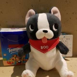 Bulldog 可愛小狗 boo 掛飾