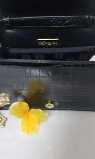 Authentic YSL LOGO shoulder bag