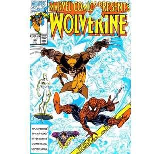 MARVEL COMICS PRESENTS WOLVERINE #50 (1990)