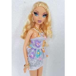 Barbie Myscene Blondie Beauty Nude