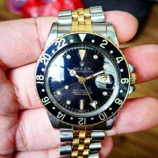 ROLEX GMT MASTER 16753 NIPPLE DIAL