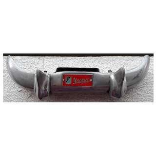 Vespa Rear Plate Number Accessory