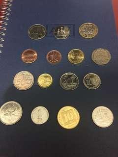 15個多國 coins