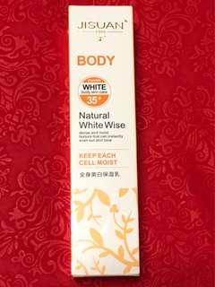 Used once SPF 35+ Body Whitening Lotion
