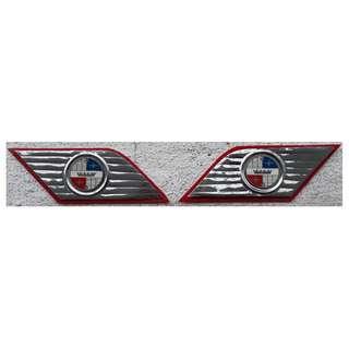 Repro Cavalli Badge for Vespa or Lambretta