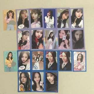 Twice WIL Photocard Clearance