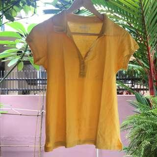 #PrelovedWithLove Yellow Polo Shirt