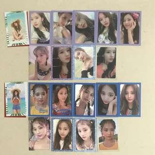 Twice DTNA Photocard Clearance