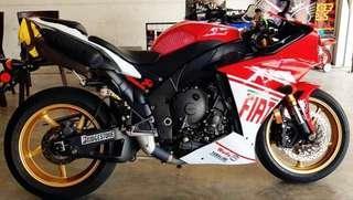 Sambung bayar Yamaha R1
