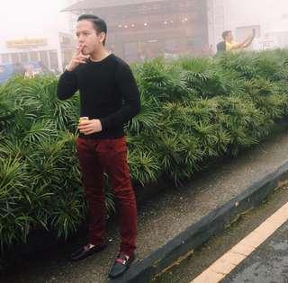 H&M Long Sleeve T Shirt Black colour