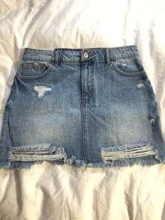 Women's Brand New Jean Skirt