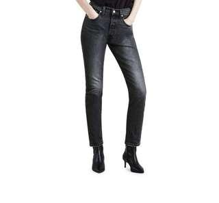 LEVI'S 501 HIGH RISE SKINNY JEANS - SIZE 27