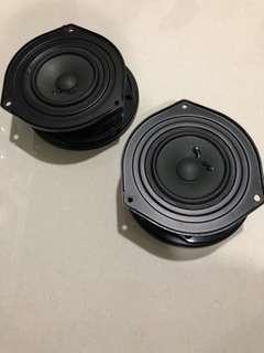 Perodua Axia original speaker 4 unit front and rear