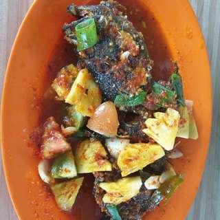 Fish Special love seafood at Batam