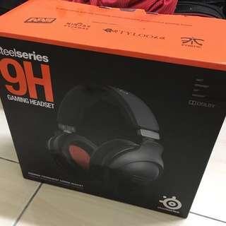 Steel Series 9H Headphones