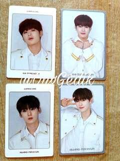 [Ready Stock] Wanna One World Tour Kinho Photocars