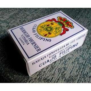 Rare Cuajo Filipino Playing Cards
