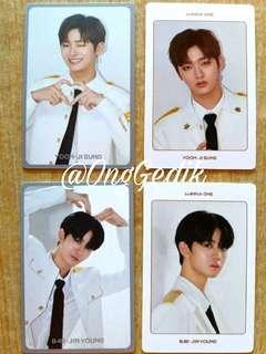 [Ready Stock] Wanna One World Tour Kinho Photocard