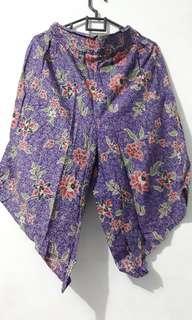 Batik culotes