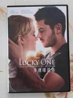 The lucky one DVD book by Nicholas Sparks