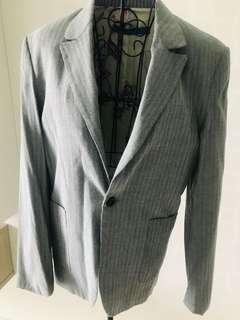 Grey Blazer by KeyNg size M