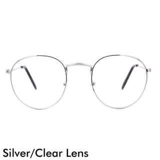 Silver/Clear Lens