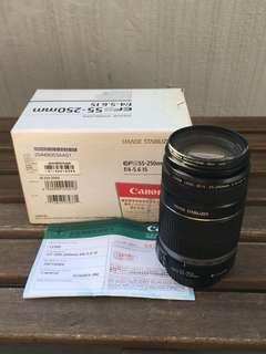 Canon EF-S 55-250