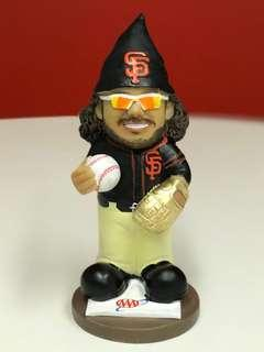 Exclusive SF Giants 2018 Brandon Crawford Gold Glove Gnome