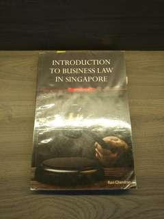 BSP1701 Introduction to Business Law in Singapore