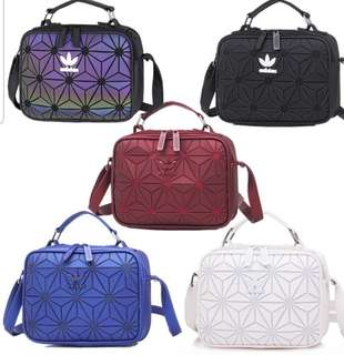 891db3a19446 New 100% genuine 3D Issey-Miyake Adidas bag (All colours available)