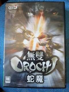 二手正版 電腦遊戲 無雙orochi 有盒和說明書