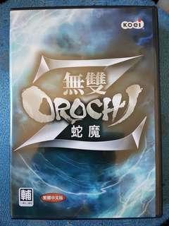 二手正版 電腦遊戲 無雙orochi Z 有盒