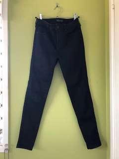 Black Denim Jeans Size 8