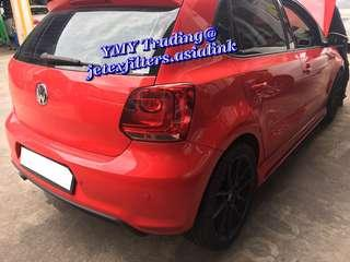 #jetexfilters_vw. #jetexfiltersasialink. Volkswagen Polo 1.4cc NA (85bhp) in the house to upgrade Jetex Racing (JR) Performance high flow with 1.14 kpa flow rate washable and reusable drop in air filter .