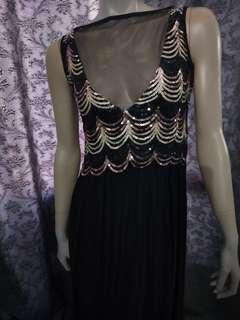 Glitters dinner Long Dress