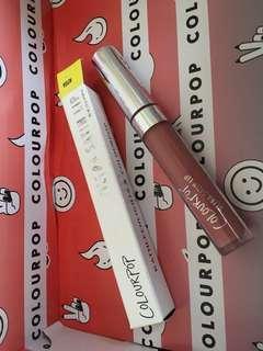 New colourpop x Kathleen lights Alyssa liquid lip
