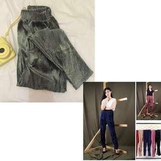 Pants velvet premium