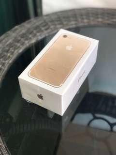 [Brand New!] iPhone 7, gold