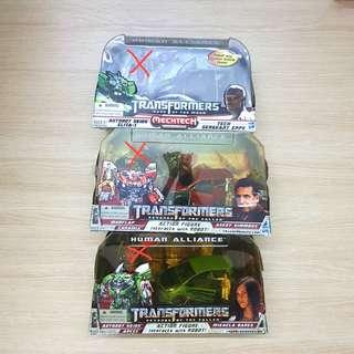 Transformers Human Alliance 2009-2010 Skids and Mudflap